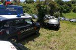 Maida, rifiuti speciali su un'area agricola: sotto chiave un terreno e 28 auto