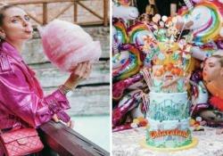 Chiara Ferragni per festeggiare il compleanno si affitta tutta Gardaland Il compleanno più trash dell'anno criticato on line: «Pensate a chi non riesce a arrivare a fine mese...» - Corriere Tv