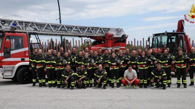 lamezia terme, vigili del fuoco, Catanzaro, Calabria, Cronaca