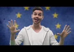 Europee: l'invito al voto ironico è una canzone neomelodica Lorenzo Baglioni presenta «Ue!» per spiegare l'integrazione europea - Corriere Tv