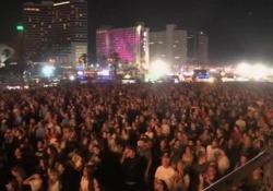 Eurovision: migliaia di fan davanti ai maxischermi a Tel Aviv Grande entusiasmo nella città israeliana per la semifinale della gara musicale - LaPresse