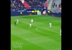 Francia, tiro nel sette da posizione impossibile Fayçal Fajr ha segnato uno dei suoi gol più belli - Dalla Rete