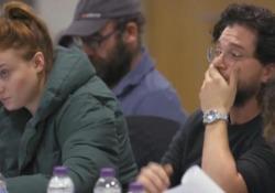 Game of Thrones: il pianto di Kit Harington mentre legge il copione dell'ultimo episodio Le lacrime di Jon Snow quando viene a sapere come finirà la serie - LaPresse