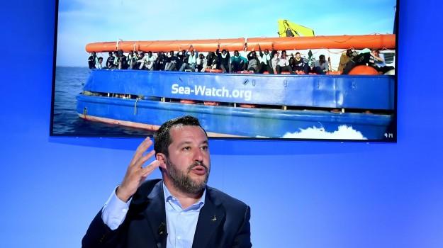 governo, migranti, sicurezza, Matteo Salvini, Sicilia, Politica