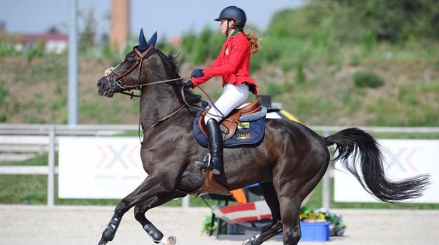 Equitazione, in Austria argento per la catanzarese Giulia Colosimo e la squadra azzurra - Foto