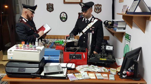 banconote false, laino borgo, Cosenza, Calabria, Cronaca