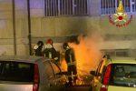 Cosenza, incendio in un magazzino nella notte
