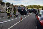 Scontro tra due auto a Chiaravalle Centrale, nove persone al pronto soccorso