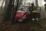 Nuovo incidente sui Colli Sarrizzo a Messina, auto precipita in una scarpata: un ferito grave - Foto