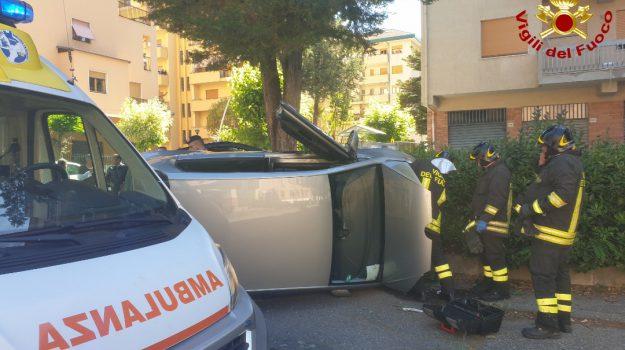 incidente cosenza, via panebianco, Cosenza, Calabria, Cronaca
