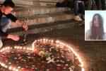 Il drammatico incidente di Messina, notte di veglia per ricordare Margherita: le foto