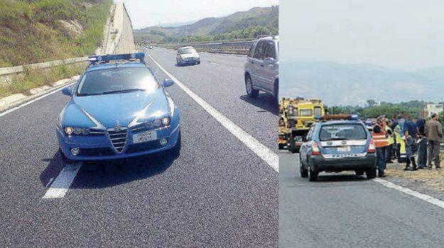autostrada a2, incidente mortale, travolto camion, Antonino Salvatore Conte, Catanzaro, Calabria, Cronaca