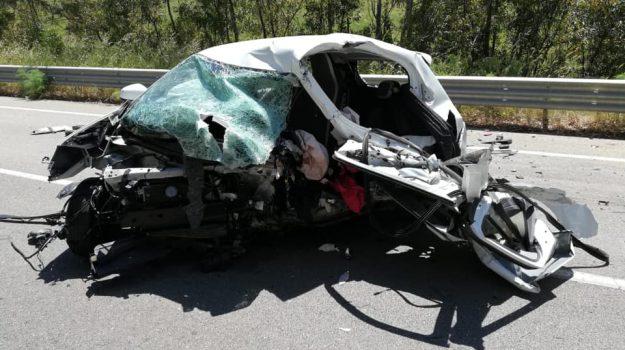 incidente Enna, statale 626, Sicilia, Cronaca