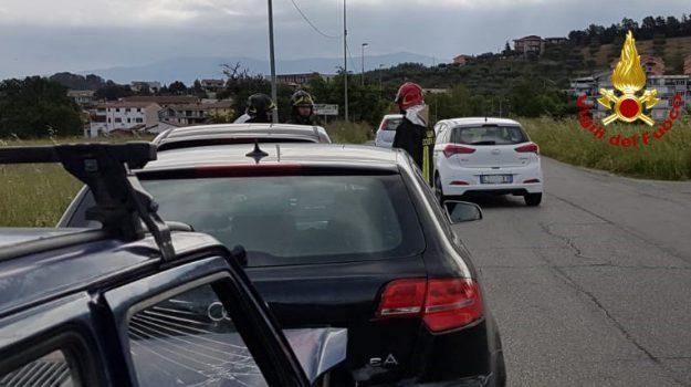 incidenti, rende, vigili del fuoco, Cosenza, Calabria, Cronaca
