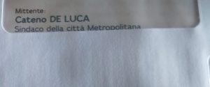La lettera elettorale del sindaco metropolitano