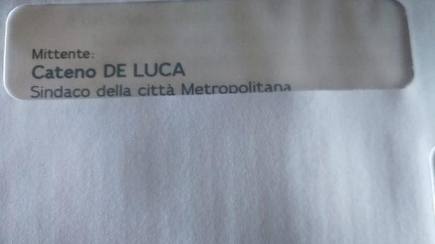 esposto cinquestelle, lettera elettorale, musolino de luca, Cateno De Luca, Dafne Musolino, Messina, Sicilia, Politica