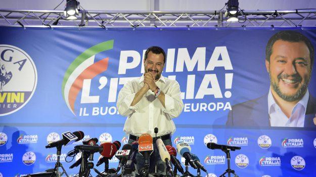 elezioni europee, parlamento europeo, Matteo Salvini, Sicilia, Politica