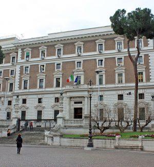 La sede del Ministero dell'Interno