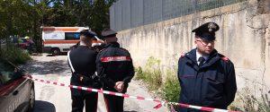 Il luogo dove Antonino Di Liberto, 49 anni, è stato ucciso con colpi d'arma da fuoco