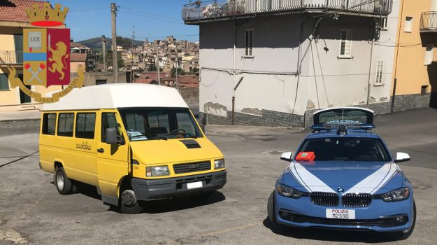 cassetta pronto soccorso, polizia stradale, scuolabus enna, trasporto disabili, Sicilia, Cronaca