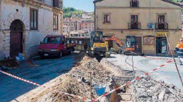cosenza, lavori, rete idrica, Cosenza, Calabria, Cronaca
