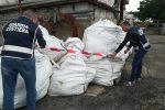 Stoccaggio illecito di rifiuti nel depuratore di Corigliano Rossano, sequestri e denunce