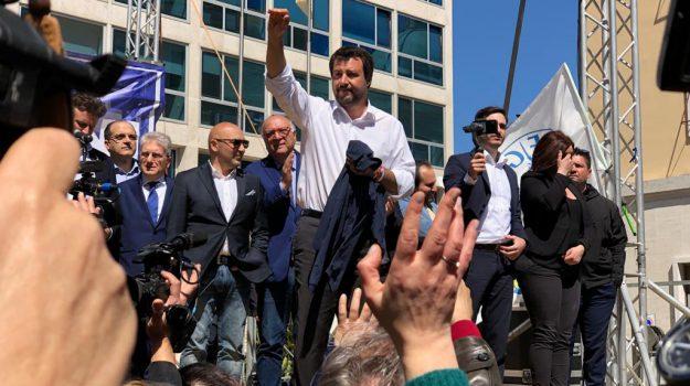 calabria, europee, lega, rivalità, Matteo Salvini, Catanzaro, Calabria, Politica