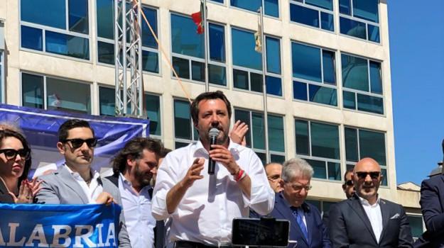 calabria, catanzaro, elezioni europee, lega, Matteo Salvini, Catanzaro, Calabria, Politica