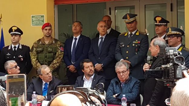 bene confiscato mafia, oratorio, platì, Matteo Salvini, Reggio, Calabria, Politica