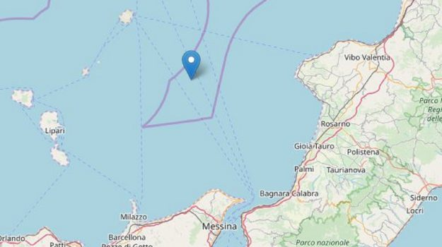 ingv, terremoto, terremoto messina, Messina, Sicilia, Cronaca
