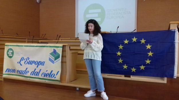confronto con studenti, federalisti europei, vibo valentia, Catanzaro, Calabria, Politica