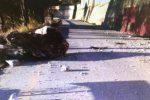 Caduta massi a Joppolo, si danneggia l'acquedotto: Ricadi e parte di Tropea senz'acqua