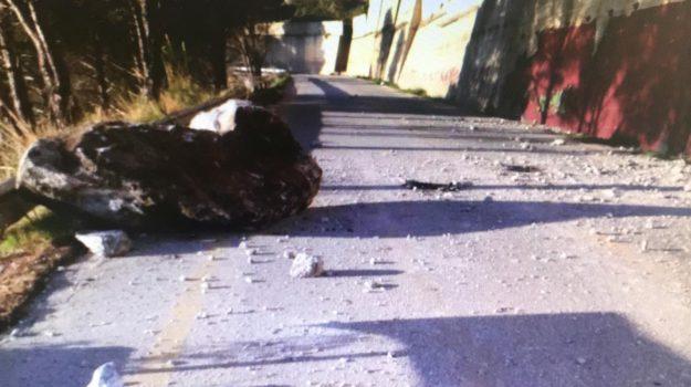 acquedotto, caduta massi joppolo, emergenza idrica, Catanzaro, Calabria, Cronaca