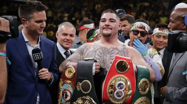 boxe, pesi massimi, Andy Ruiz, Anthony Joshua, Sicilia, Sport