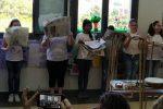 Giornali al posto degli strumenti, l'originale concerto degli alunni a Messina