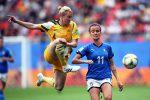 Mondiali donne, l'Italia vince 2-1 nell'esordio contro l'Australia