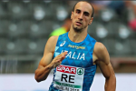 Atletica, nuovo primato italiano nei 400 metri: Davide Re li corre in 45'' 01