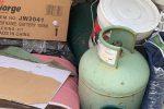 Esplosivi e bombole di gas