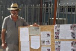 Francica, imprenditore protesta davanti al municipio dopo il furto dei suoi cavalli