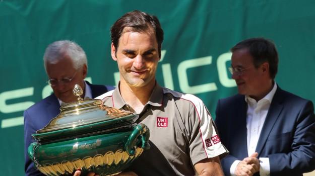 atp halle, tennis, wta birmingham, Ashleigh Barty, Roger Federer, Sicilia, Sport
