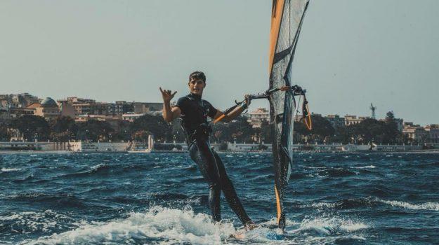 campionato mondiale, reggio calabria, windsurf, Francesco Scagliola, Reggio, Calabria, Sport