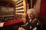 Palermo, cittadinanza onoraria a Liliana Segre: le foto della visita al Teatro Massimo