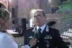 """Il concerto dei carabinieri a Taormina, il generale Robusto: """"Sorpreso dalle qualità dei miei ragazzi"""""""