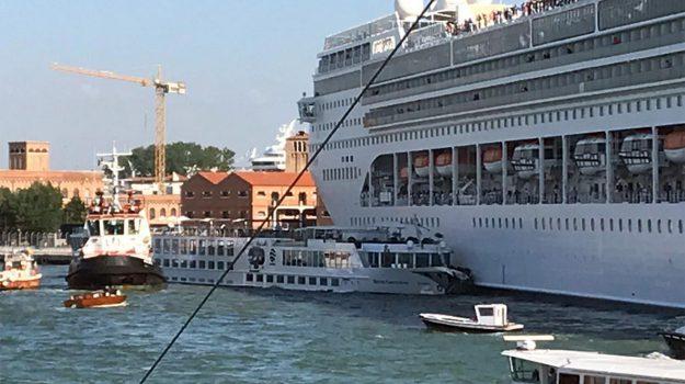 msc opera, scontro nave venezia, Danilo Toninelli, Davide Calderan, Luigi Brugnaro, Sicilia, Cronaca