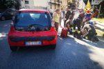Incidente stradale a Catanzaro, auto investe un pedone: soccorso dai vigili del fuoco