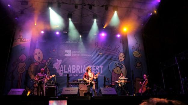 La band Regione Trucco vincitrice del Calabria Fest