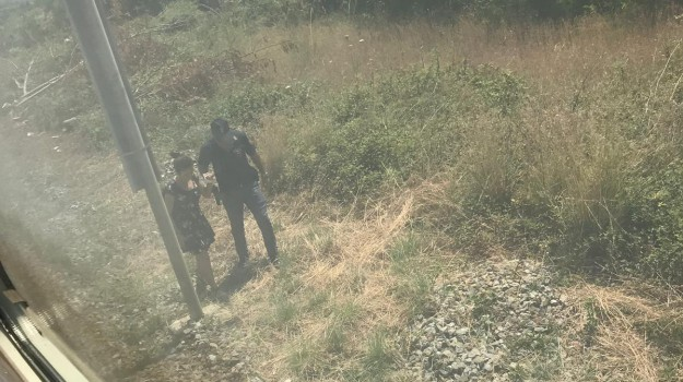 bivio di Pantani, disagi per i passeggeri, guasto tecnico, paola, treno bloccato, treno regionale, Cosenza, Calabria, Cronaca