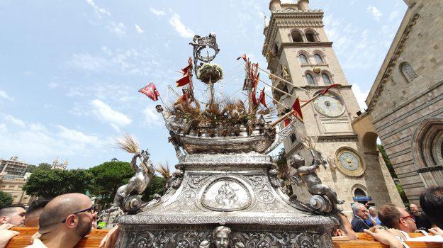 Corpus Domini, duomo di messina, messina, processione, vascelluzzo, Messina, Sicilia, Cultura