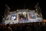 A Reggio Emilia la prova generale del tour di Ligabue: le foto del concerto con amici e giornalisti