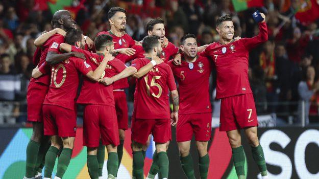 nations league, Portogallo Olanda, Cristiano Ronaldo, Gongalo Guedes, Sicilia, Sport